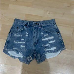 Wrangler Denim Shorts 28 x 32